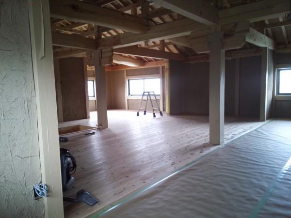 無垢材の床