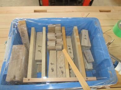 伝統構法 シャチ栓