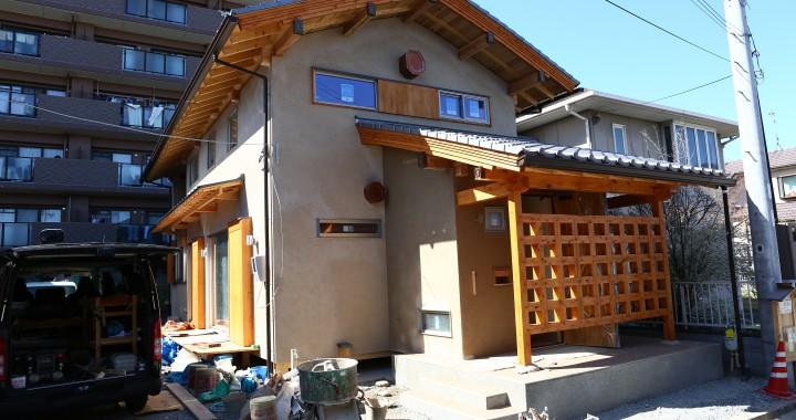正真正銘 自然素材で造る伝統構法の家