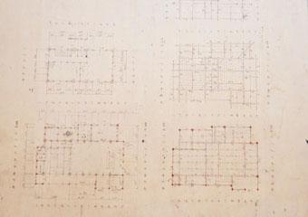手書き設計図面